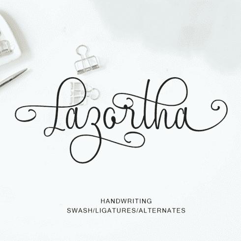 Lazortha Modern Calligraphy.