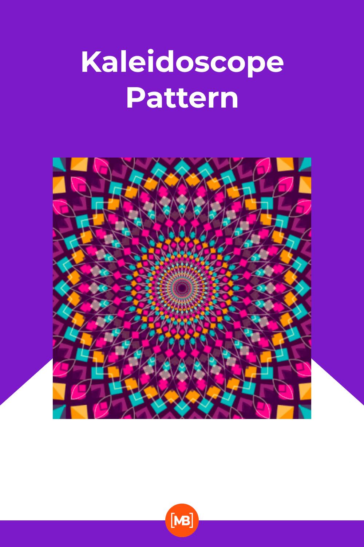 A mesmerizing kaleidoscope of vibrant colors.