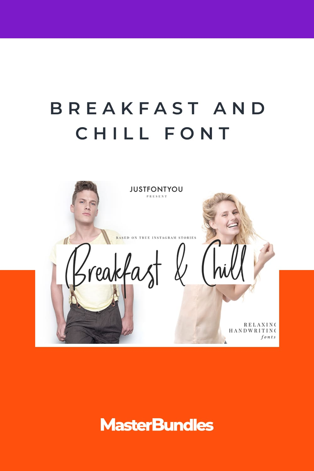 Stylish and sinuous font.