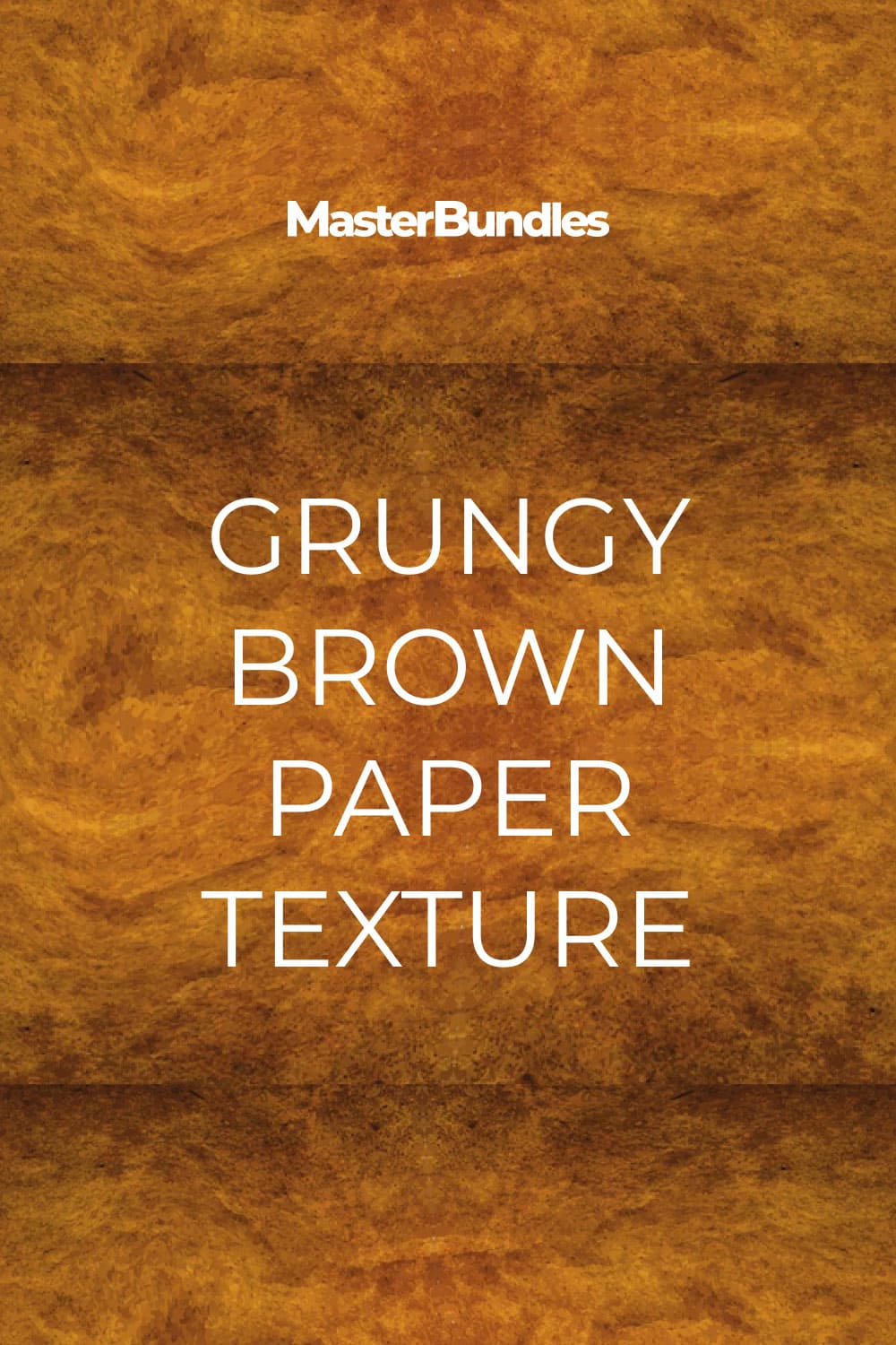 Grungy Brown Paper Texture.