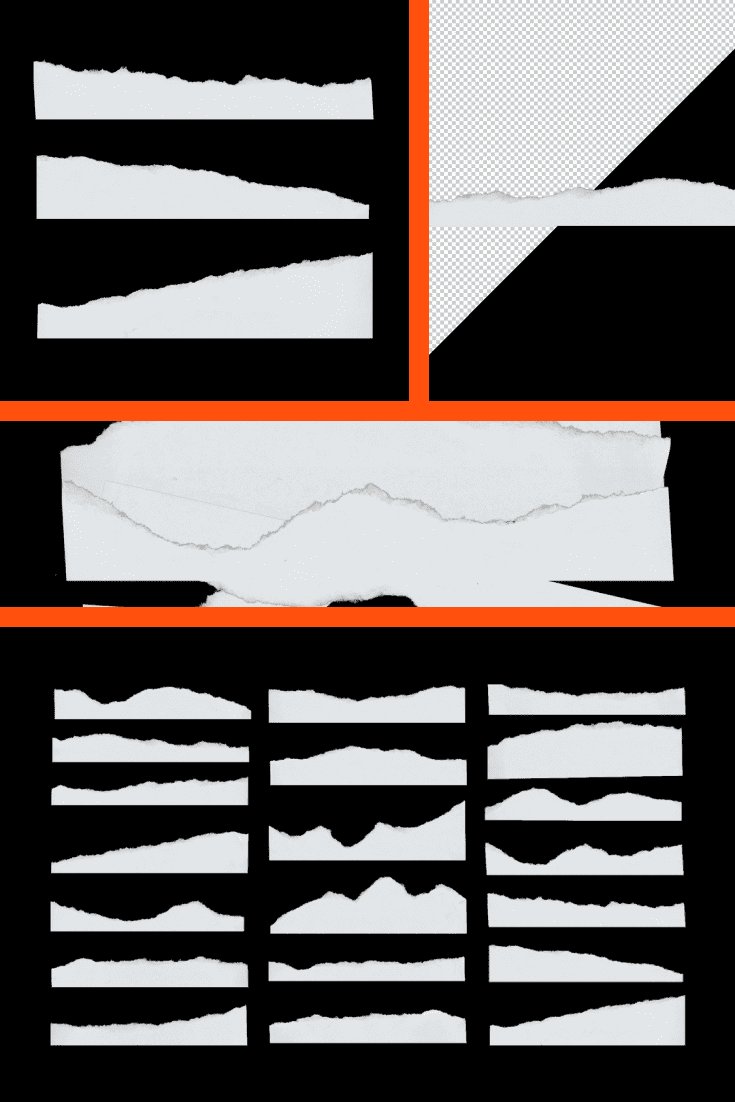 White sheet and sheet in a small box.