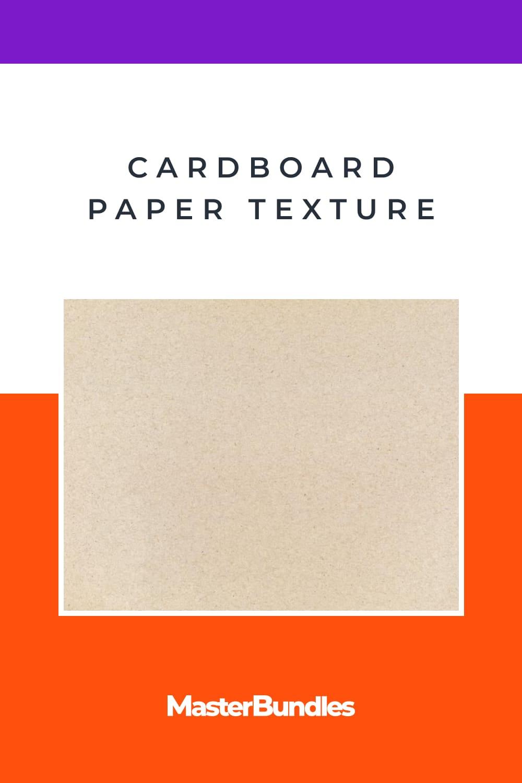 Cardboard Paper Texture.
