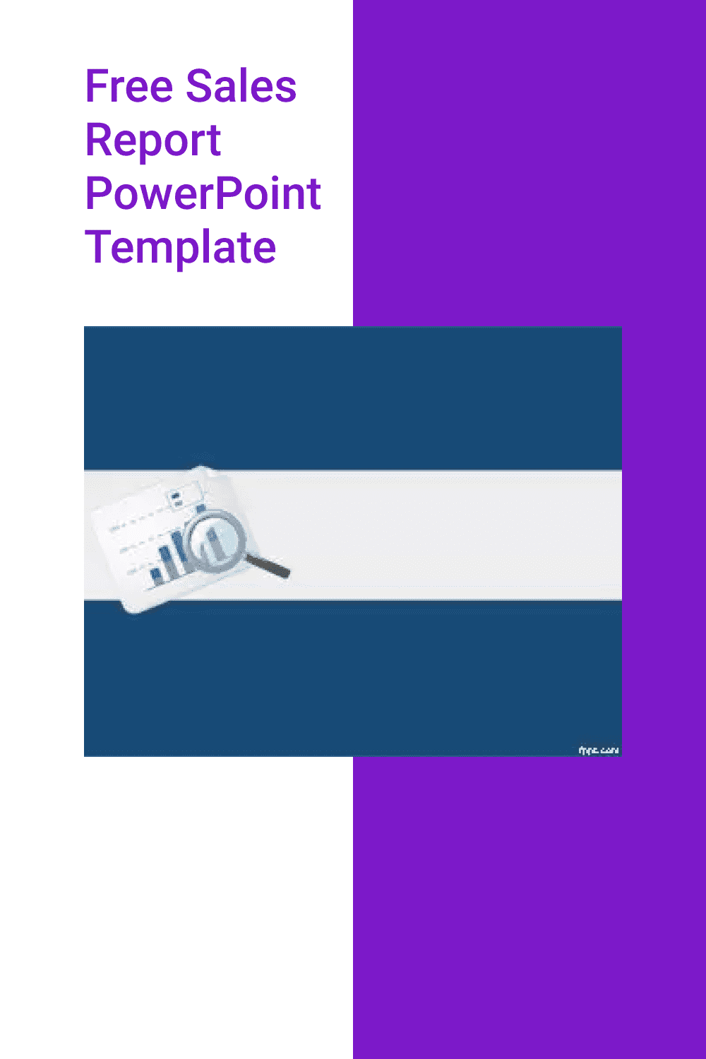 Free Sales Report PowerPoint Template.