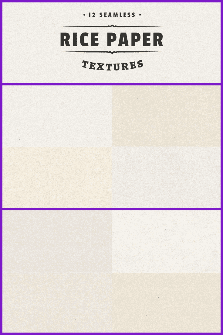Smooth surfaced paper in various shades of beige.