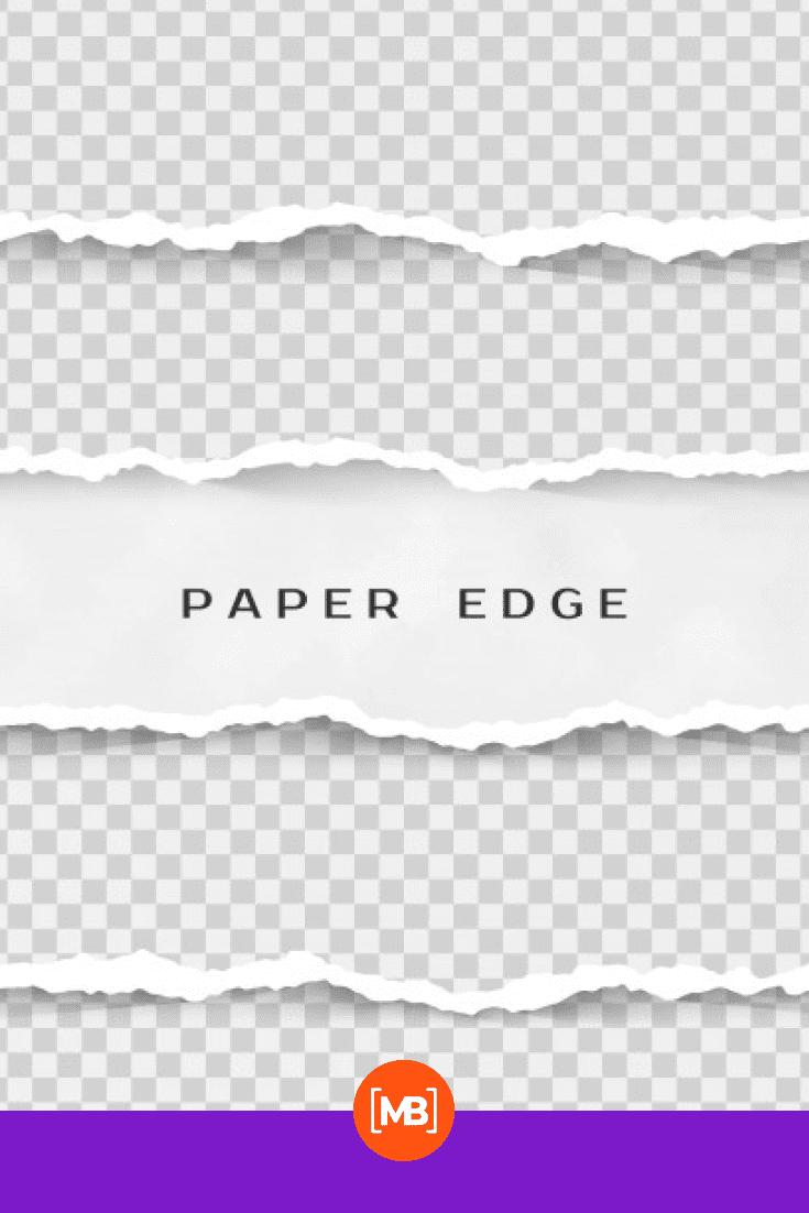 Gray-white squares on paper.