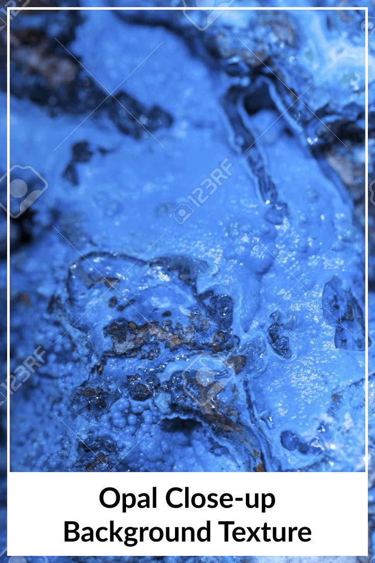 The rich blue combined with the black shimmering islets have created something magical and luxurious.