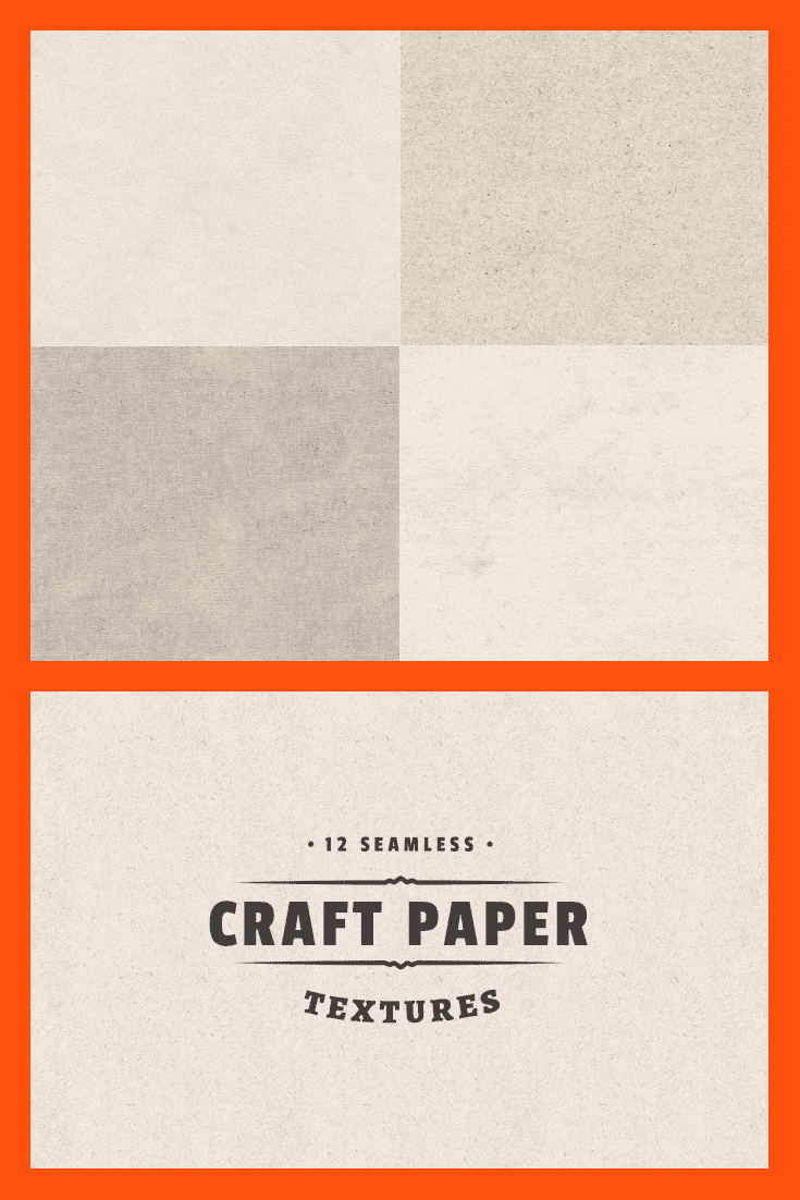 Several options for craft-style paper in beige color.