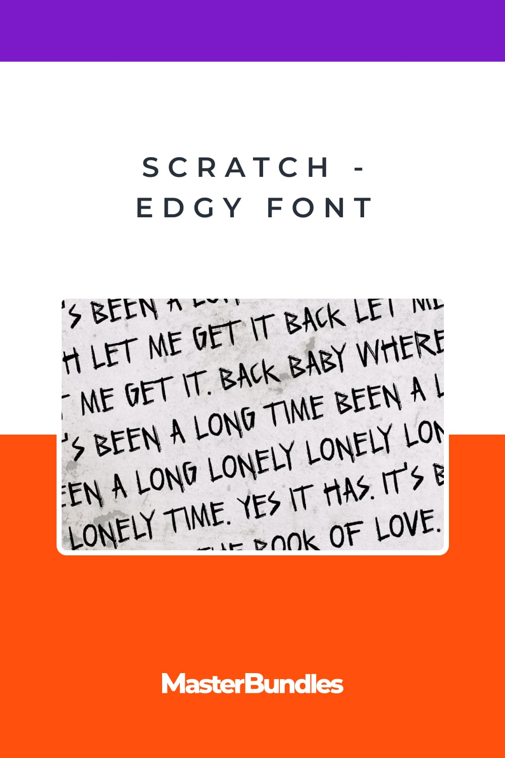 This is a sharp, eerie, awesome handmade font.