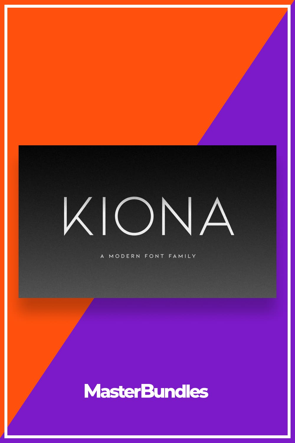 Kiona is simple but significant, and defined by its crisp edges and modern touches.
