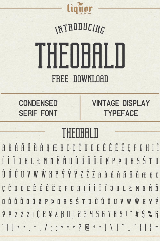 A crisp, clean and understandable font.