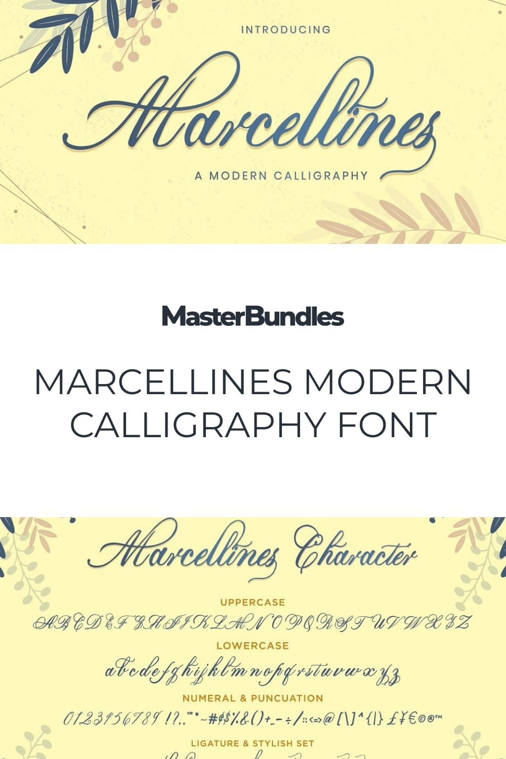 This is a Modern Calligraphy Font. This font is made by handwriting directly using a brush pen.