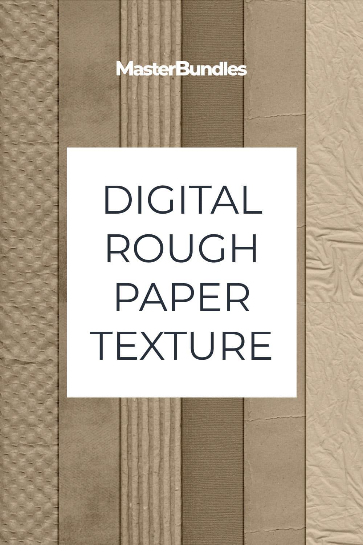 Digital Rough Paper Texture.