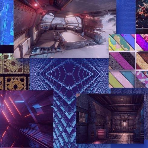 Best Sci-Fi Light Texture Example.
