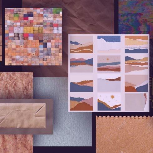 Best Paper Bag Texture Example.