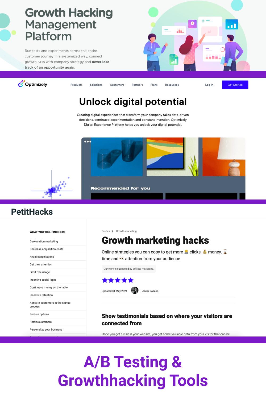 A/B Testing  Growth hackingTools.