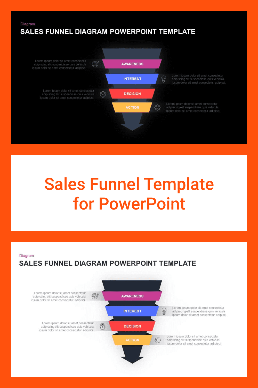 Sales Funnel Template for PowerPoint.