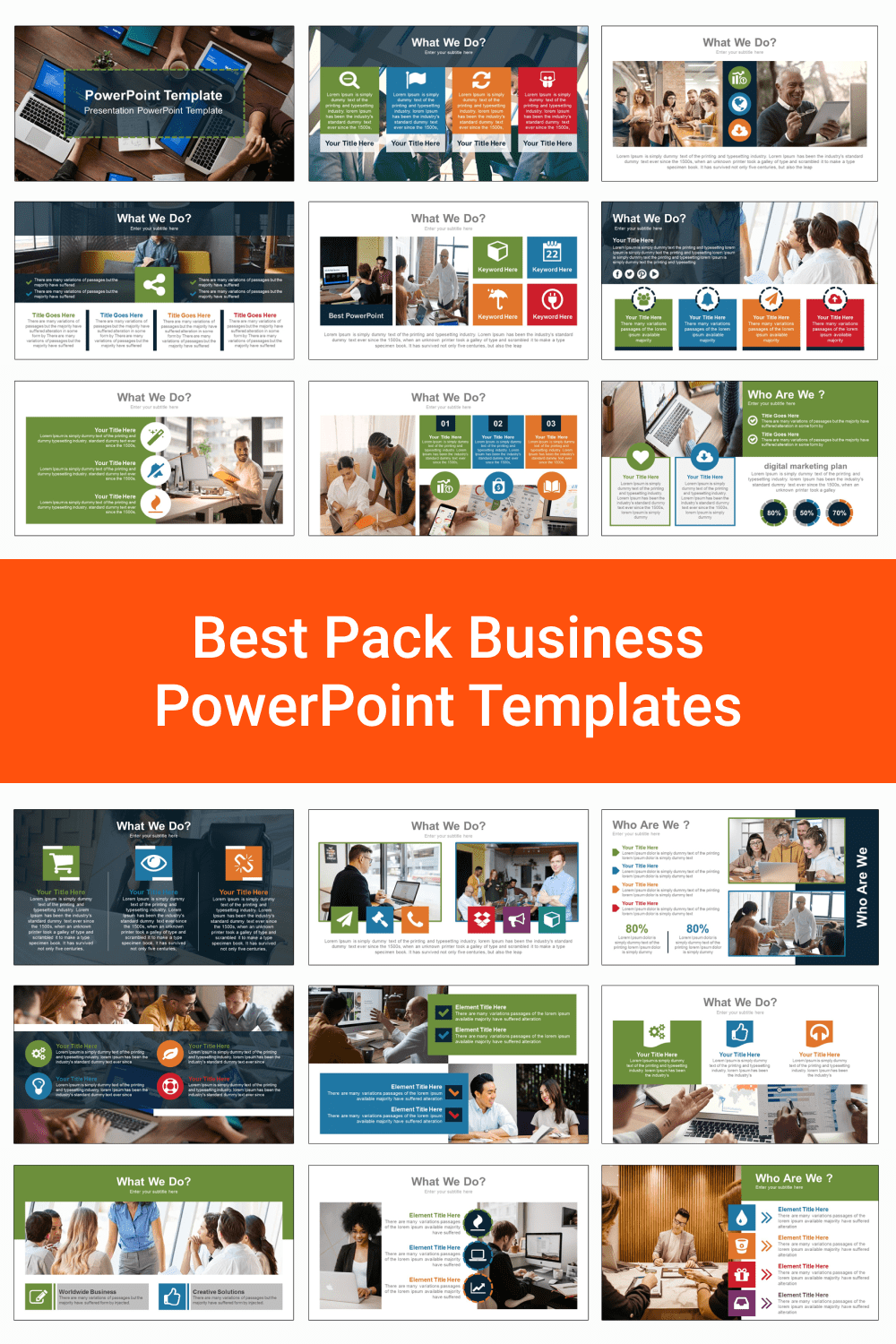 Best Pack Business PowerPoint Templates.