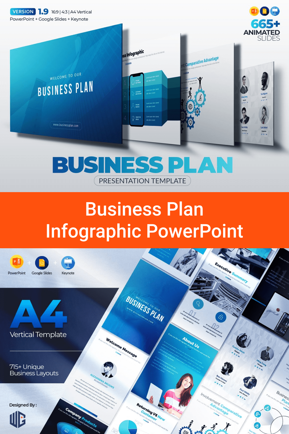 Business Plan Infographic PowerPoint.