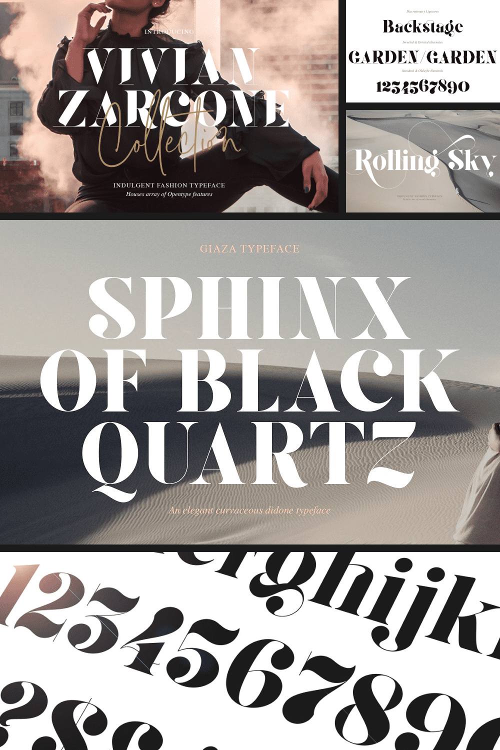This is a desert font. His style and creativity will diversify any text and add flavor to the brand.
