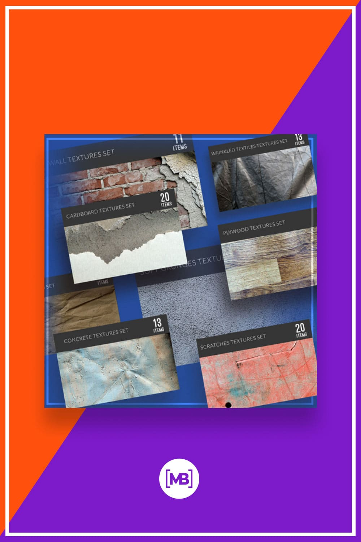 150+ Beautiful Textures: Super High-Res Textures.