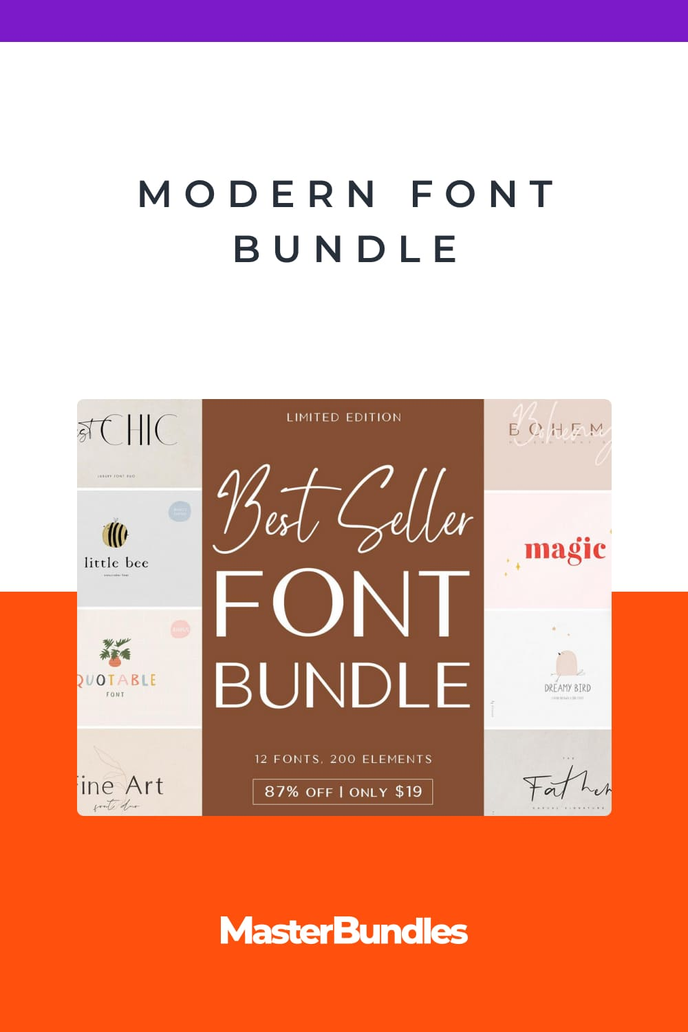 The beautiful fonts in this bundle are perfect.