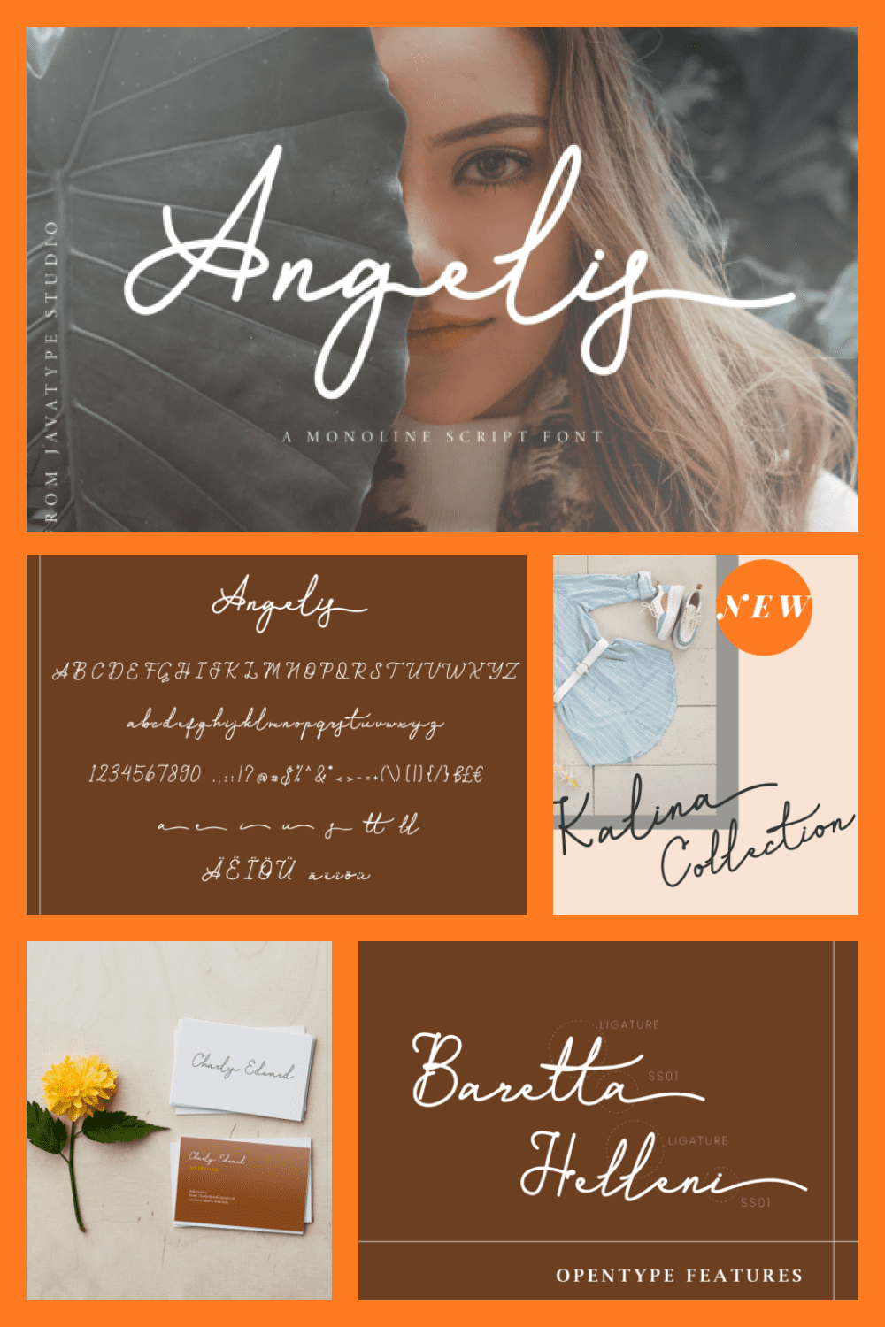 Angelis Script is a monoline script font which natural movement and elegant for signature style.
