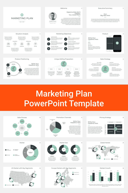 Marketing Plan PowerPoint Template.