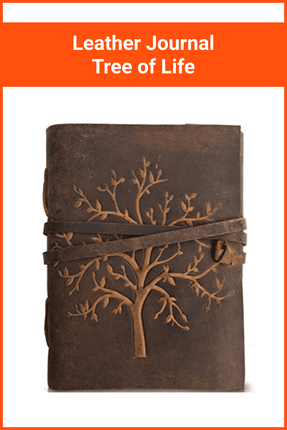 Leather Journal Tree of Life.