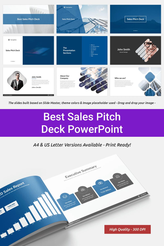 Best Sales Pitch Deck PowerPoint.