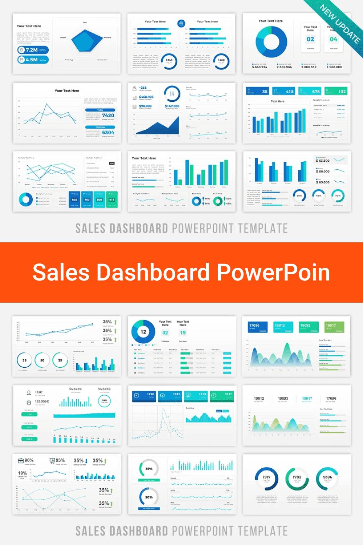 Sales Dashboard PowerPoint.