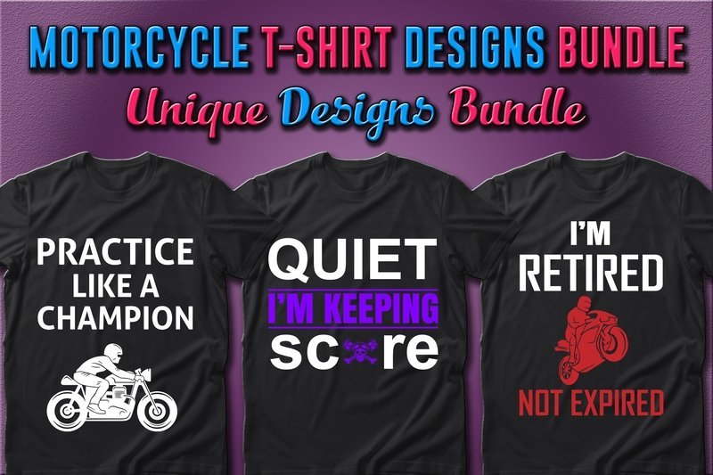Black t-shirts with themed phrases and high-quality graphics.