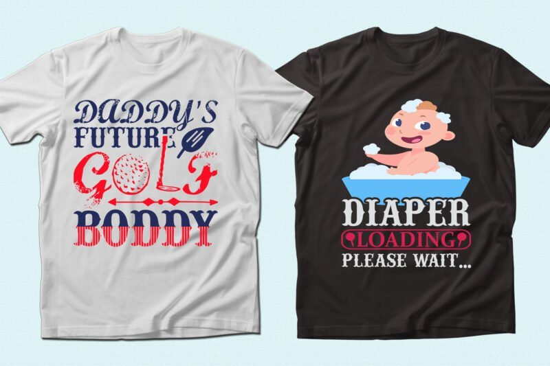Two t-shirts with quality graphics.