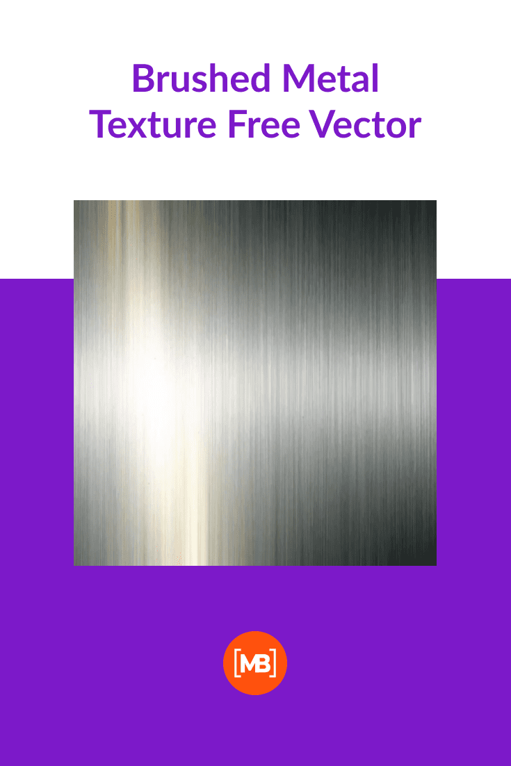 Brushed Metal Texture Free Vector.