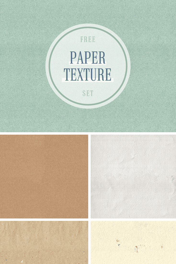 Textured paper in different colors.