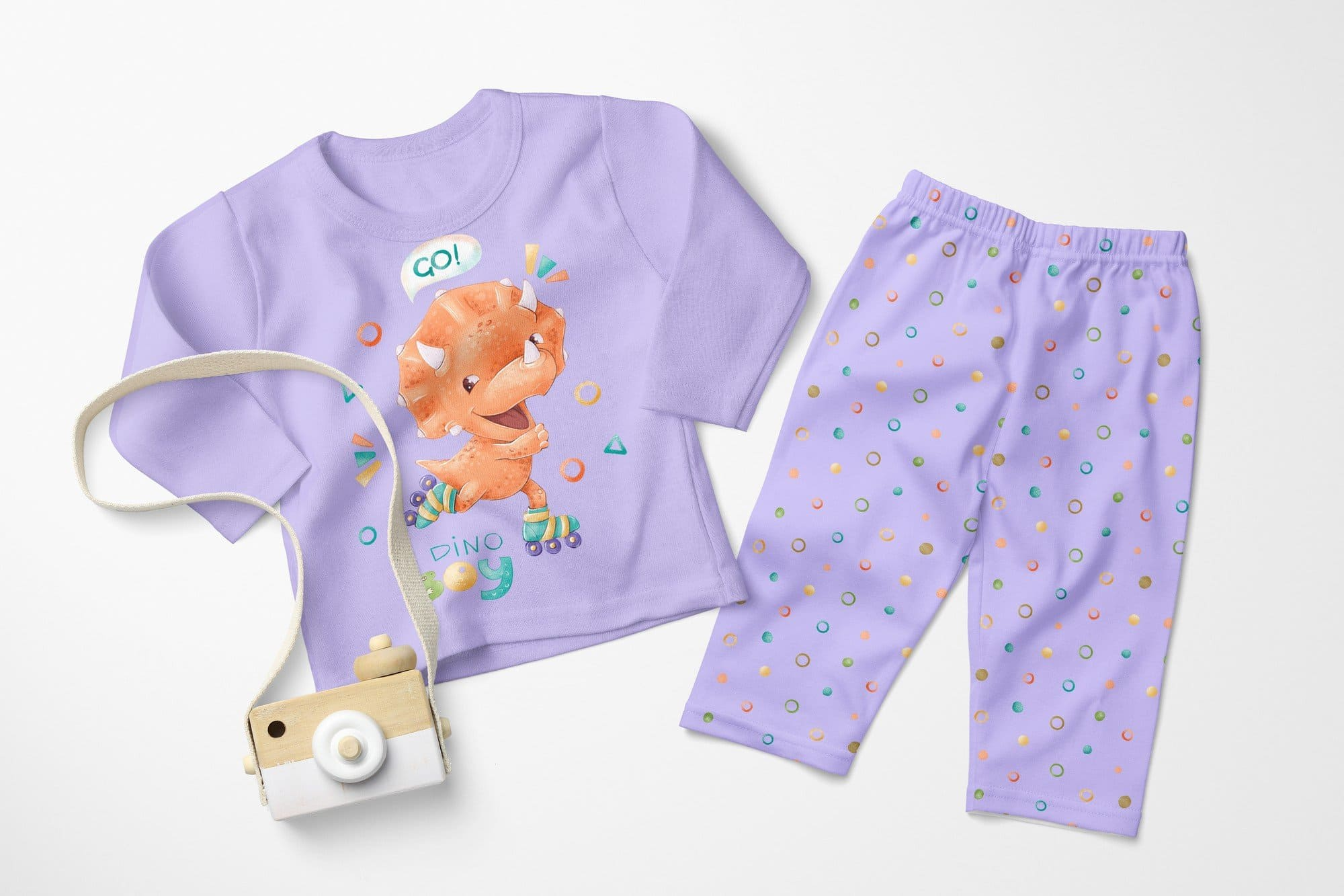 Cute pajamas for the smallest..