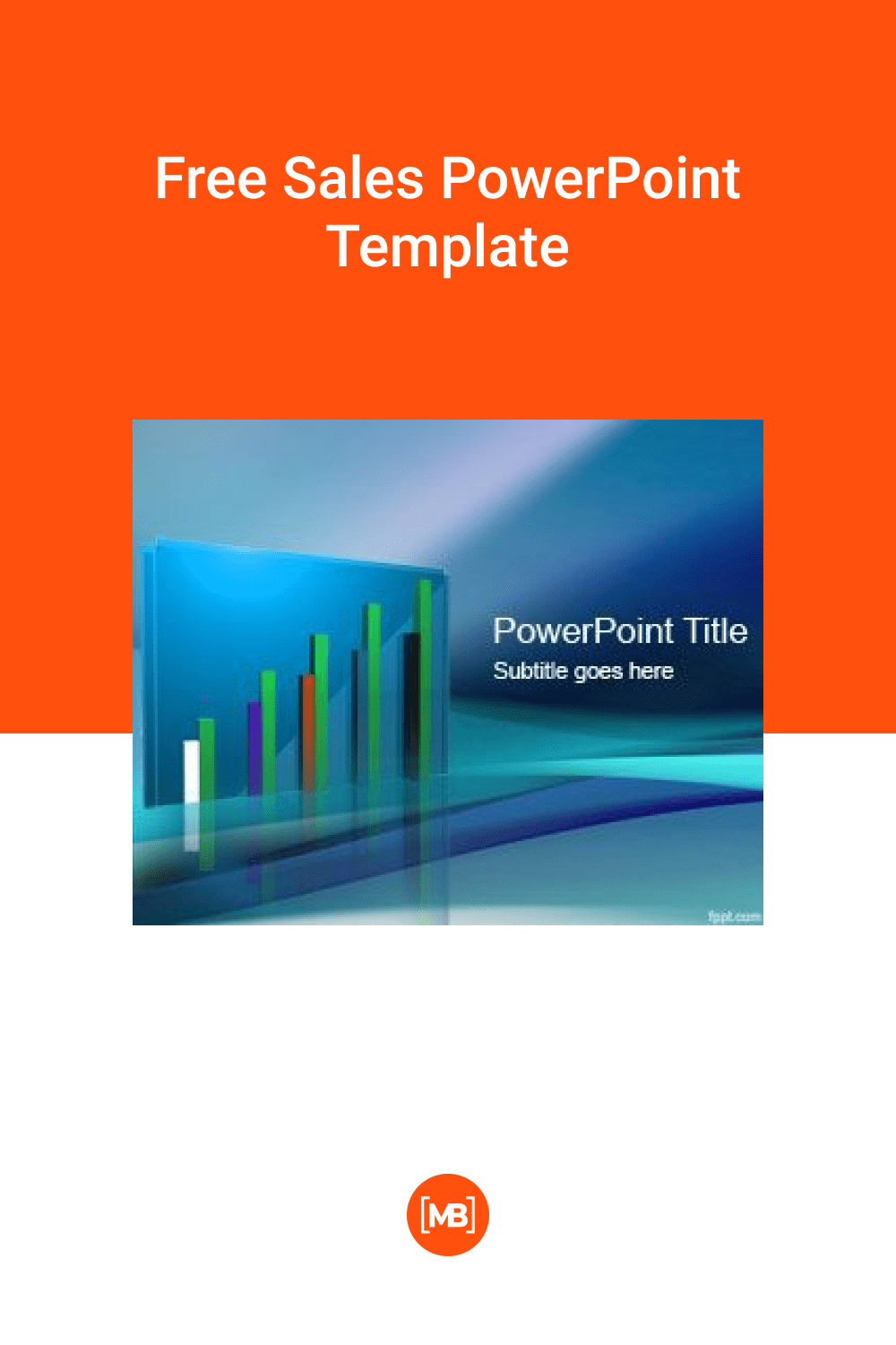 Free Sales PowerPoint Template.