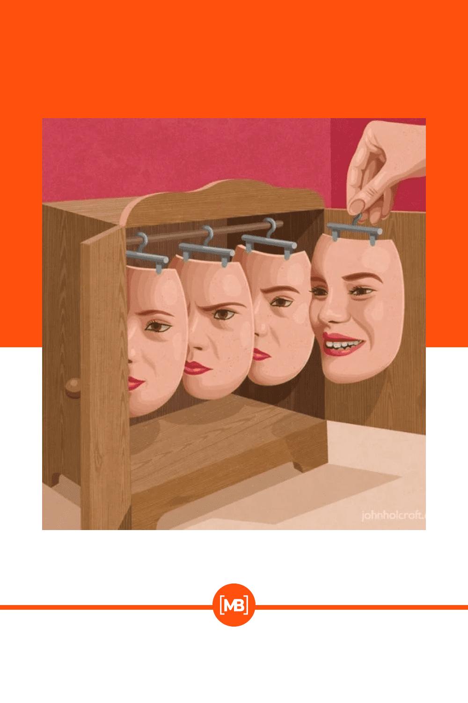 Face clone.
