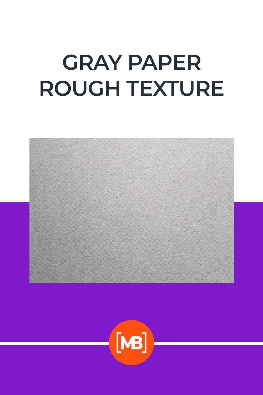 Gray Paper Rough Texture.