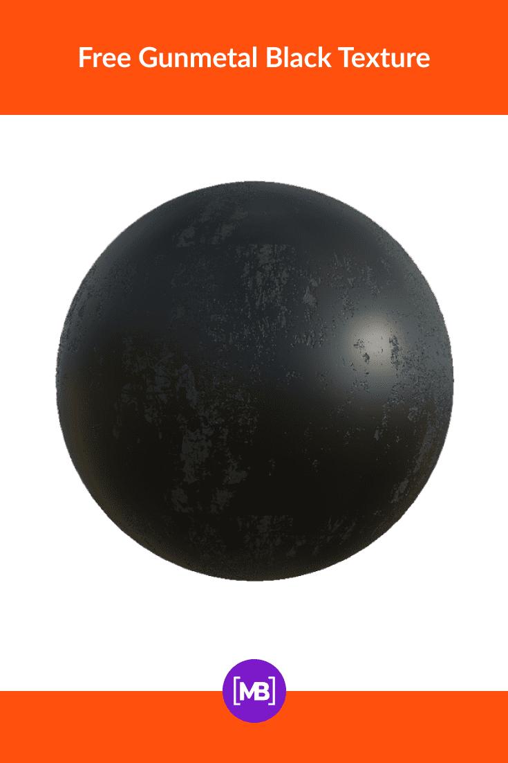 Free Gunmetal Black Texture.