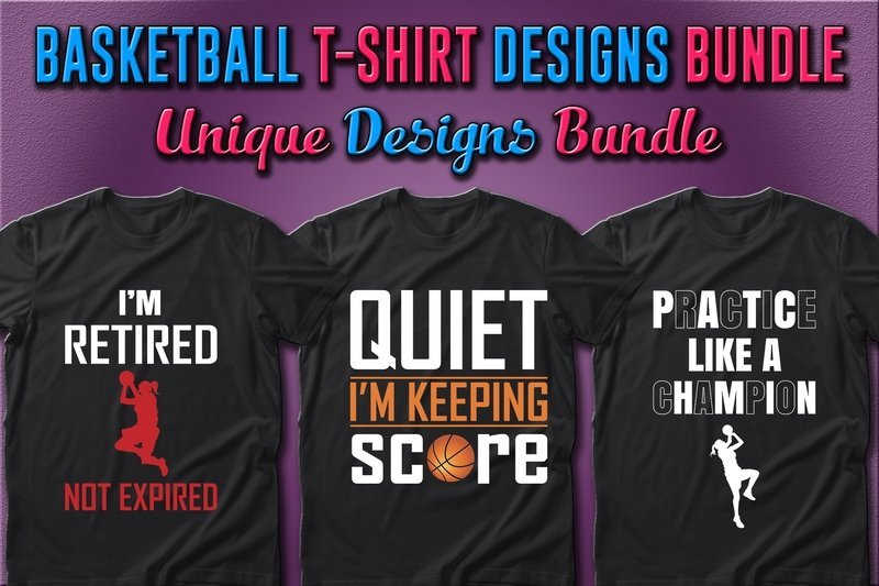 T-shirts are designed for those who appreciate basketball and high-quality graphics.