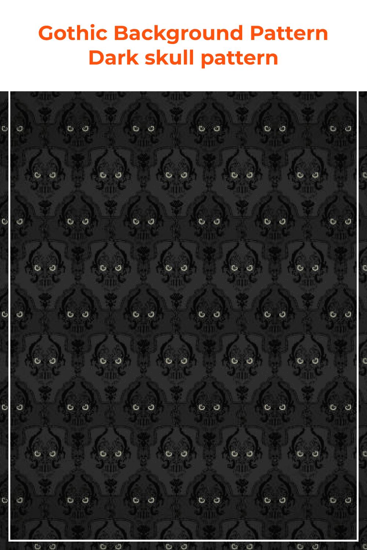 Dark Skull Pattern.
