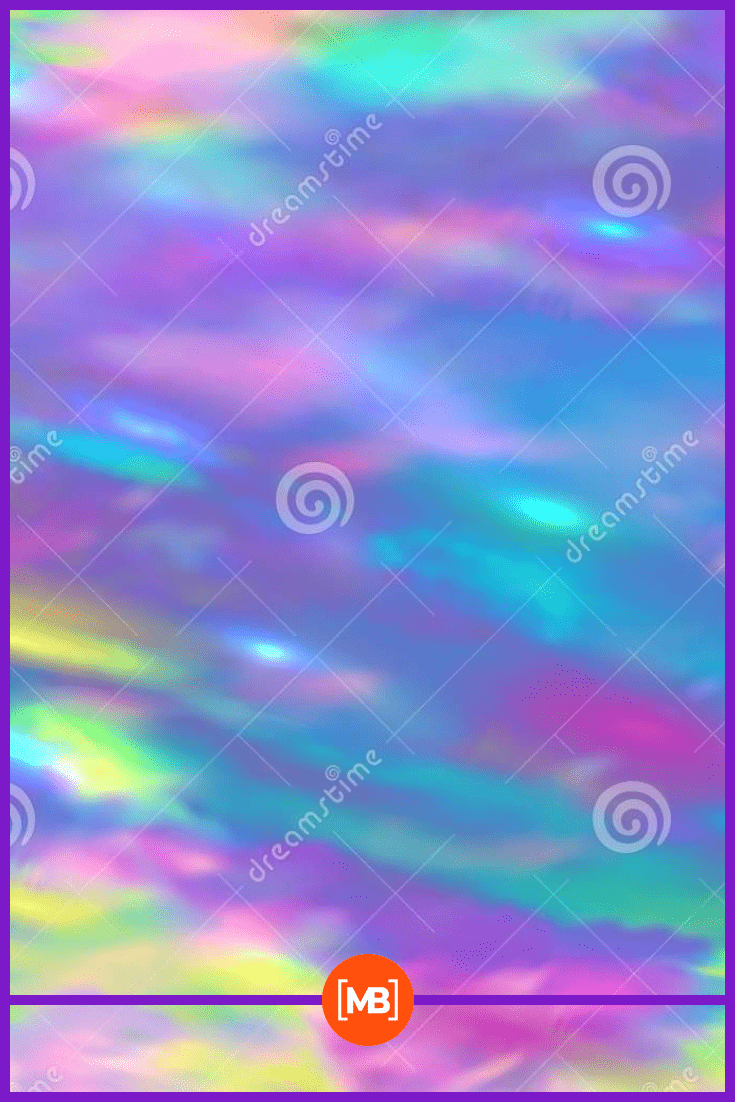 Futuristic abstract image of colors.