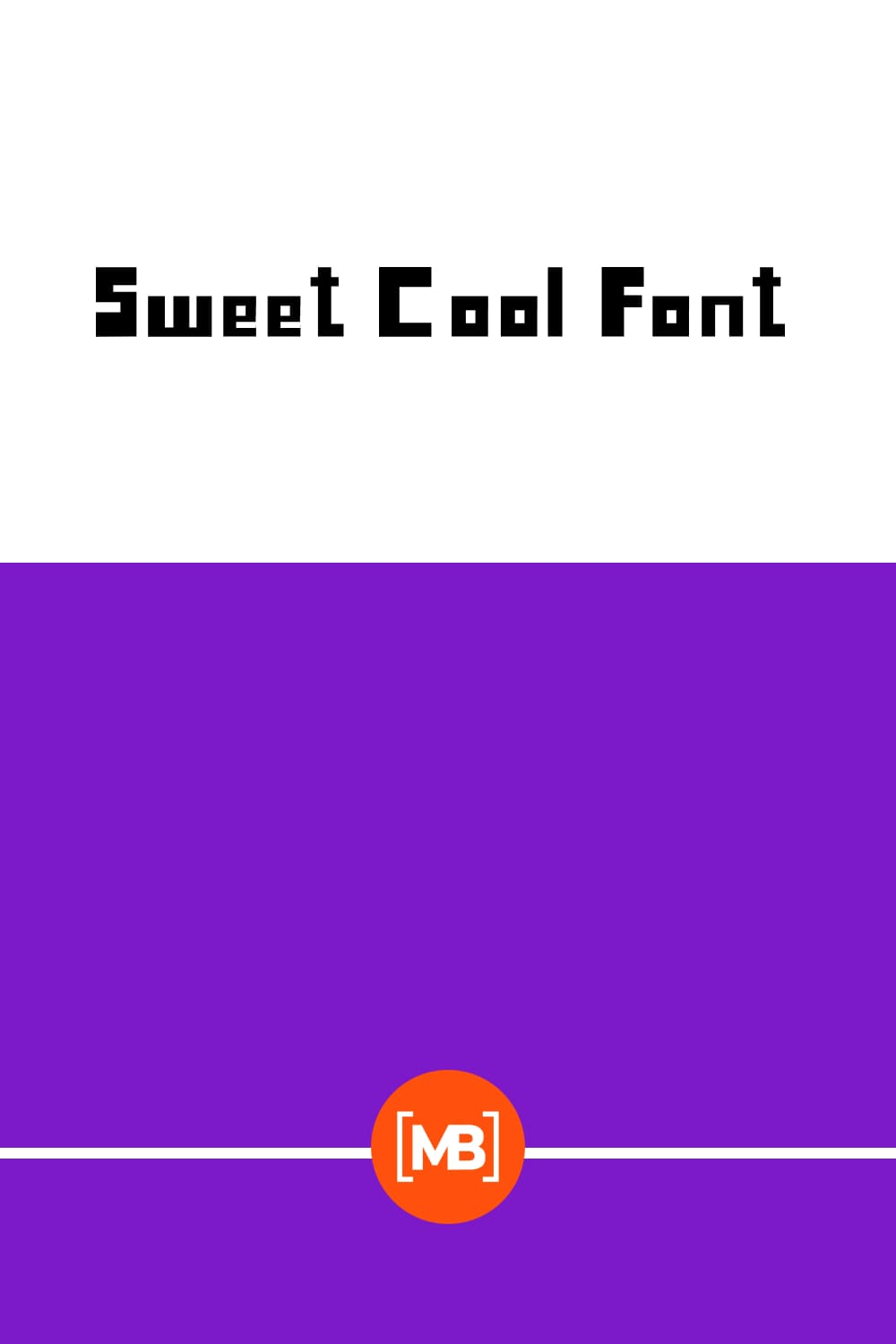 Looks like a game font.