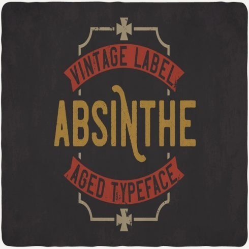 Absinthe Font main cover.