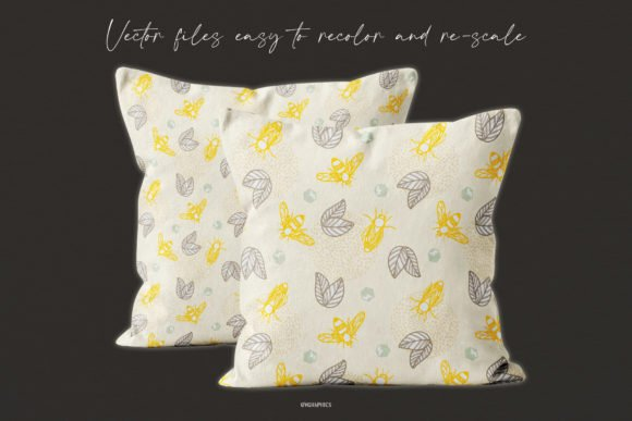 Two decorative pillows to decorate your home.