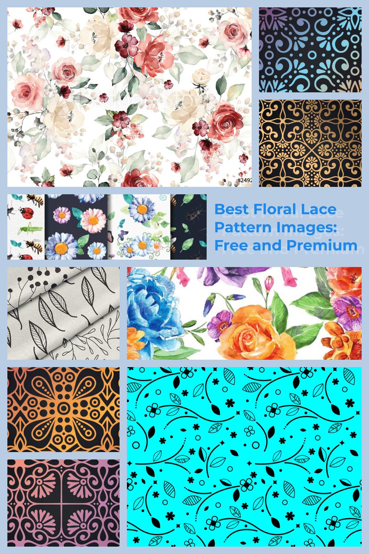 Floral Lace Pattern Pinterest.