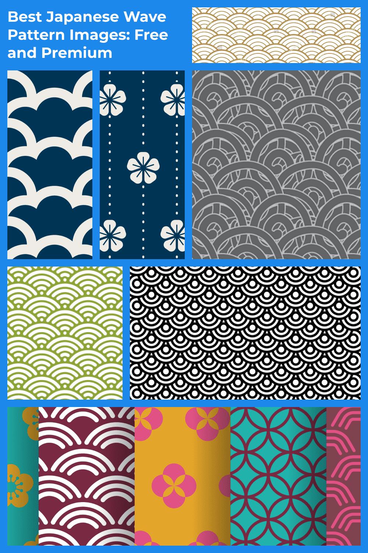 Japanese Wave Pattern  Pinterest.