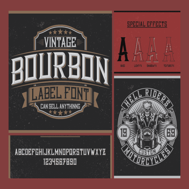 Bourbon Label cover image.