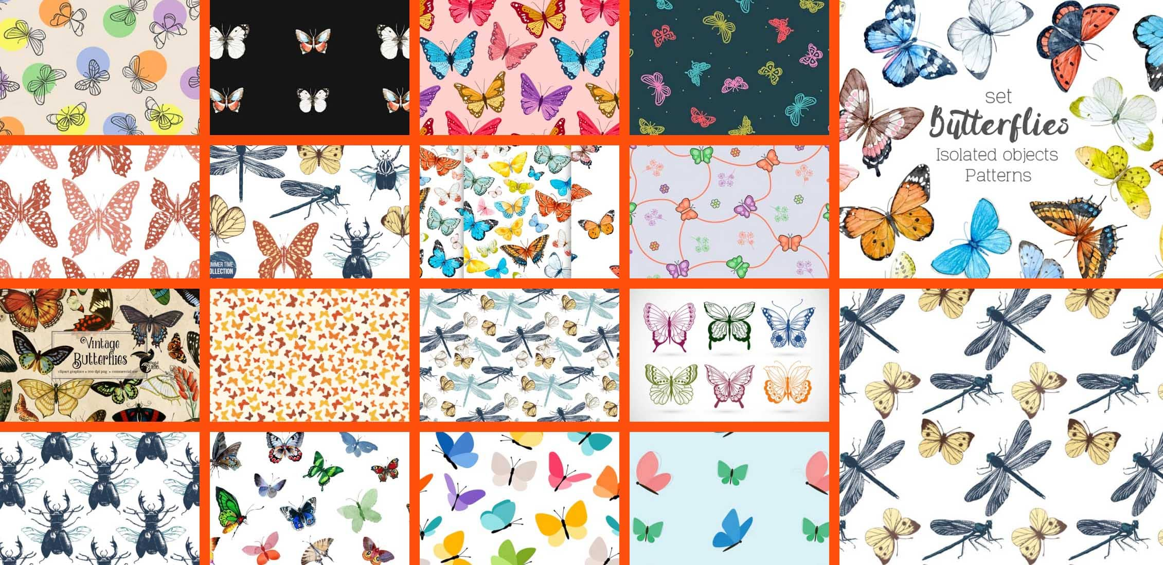 Butterfly Patterns Example.