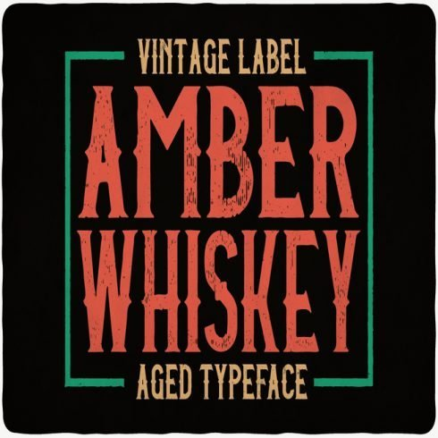 Amber Whiskey main cover.